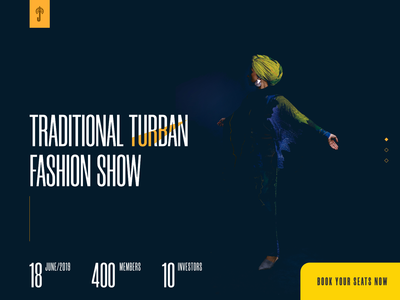 Turban Fashion show - On progress