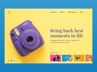 Clickz Landing Page