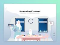 #Exploration | Ramadan Landing Page