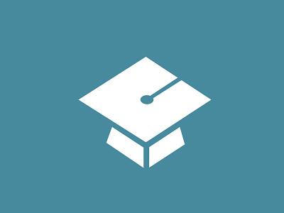 Learning Zone Logo learning graduate logo school simple minimal