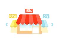 Shops icon