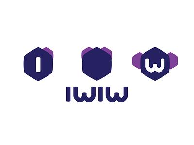 Discarded iwiw id iwiw logo identity branding