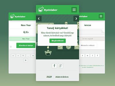 Nyelvlabor learning mobile product