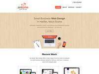 Jon Burke Web Design Homepage