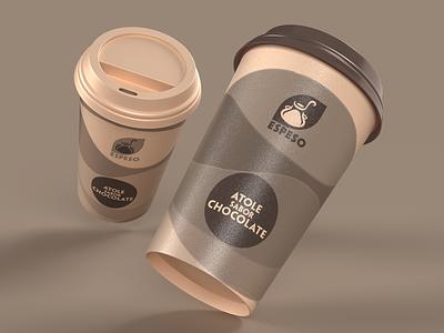 ESPESO - Branding identity label branding product design logo graphic design