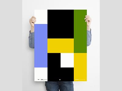 """Lego idea"" poster a day poster design graphicdesign design digital illustration bauhaus poster art poster minimal"