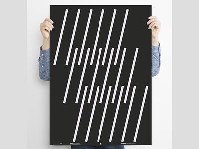 """/////"" graphic  design graphicdesign posterdesign blackandwhite poster a day vector logo design poster art poster lineart minimal"