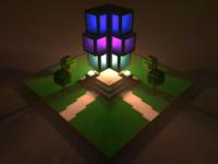 Geometric Building - Render #11