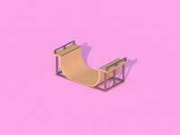 Half-pipe - Render #21