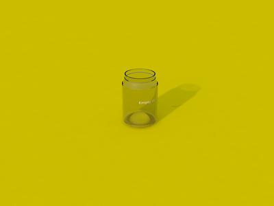 Glass Jar - Render #34