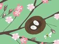 Blossom&eggs