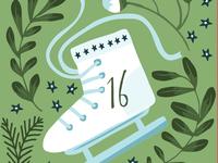Illustrated advent calendar