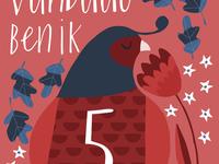 Milestone cards - bird