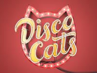 Disco Cats logotype