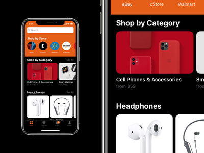 Mosaic Sample ios mobile app app design apple design interface ui