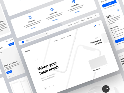 Source 2.0 animation design ux web design ui