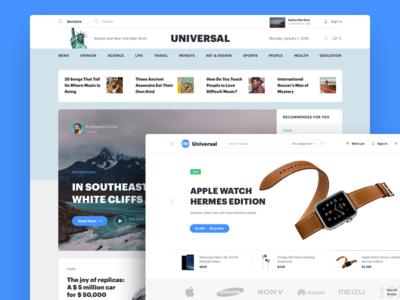 Templates at Universal Web UI Kit