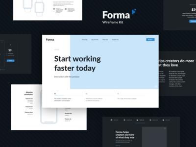 Forma Wireframe Kit