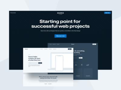Source Wireframe Kit