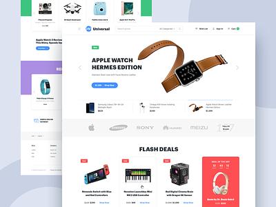 Universal Templates ux uidesign website web design ui web design