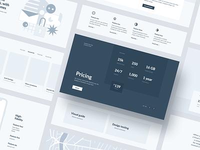 Source Wireframes webdesign design interface web design ui