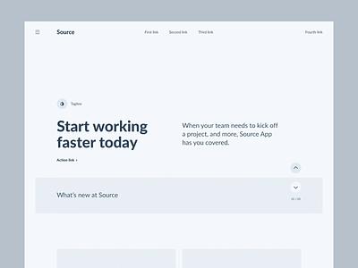 Source Wireframe Kit webdesig animation web website design interface ui