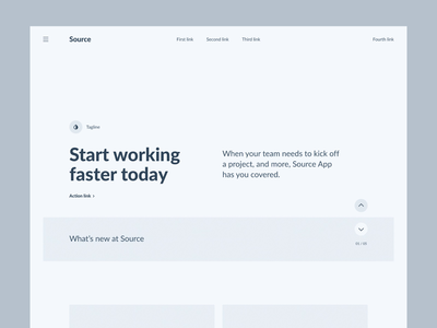Source Wireframe Kit