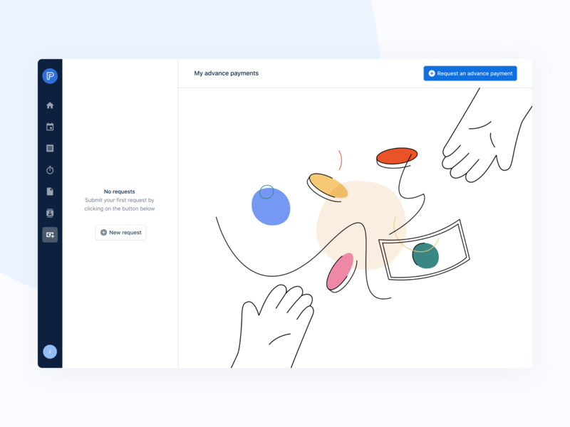 Illustrations experiment 🧪 interface app product ux product design