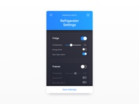 Daily UI Challenge #007 — Settings