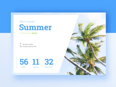 Daily UI Challenge #014 — Countdown Timer dailyui daily timer countdown challenge 014 ui web