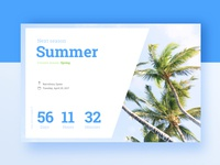 Daily UI Challenge #014 — Countdown Timer