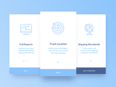 Daily UI Challenge #023 — Onboarding