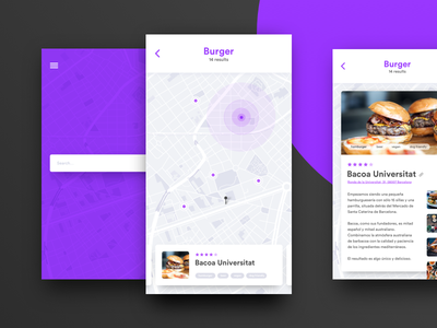 Daily UI Challenge #029 — Map ux ui app map dailyui daily challenge 029