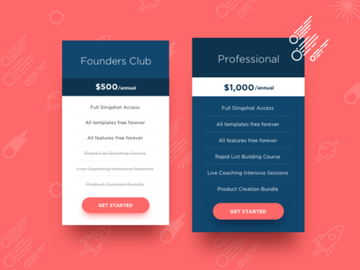 Daily UI Challenge #030 — Pricing web table ux ui pricing dailyui daily challenge 030