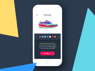 Daily UI Challenge #033 — Customize Product dailyui customize product app ux ui daily challenge product customize 033