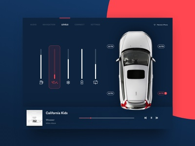 Daily UI Challenge #034 — Car Interface dailyui ux ui daily product interface car challenge app 034