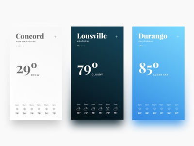 Daily UI Challenge #037 — Weather ux ui app weather product dailyui daily challenge 037