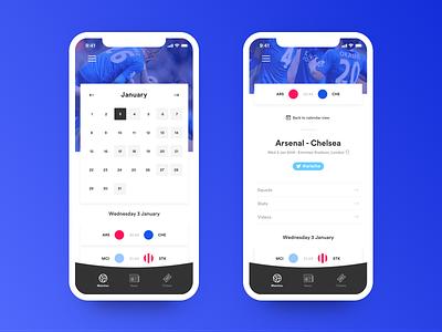 Daily UI Challenge #038 — Calendar 38 calendar ux ui product dailyui daily challenge app 038