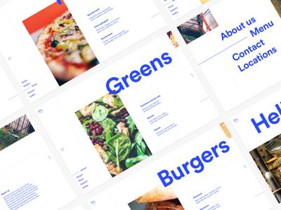 Daily UI Challenge #043 — Food/Drink menu