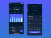 Expense Tracker App for IphoneX