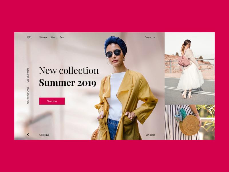 Clothes shop concept (f version) fashion clothes woman girl e-commerce store shop