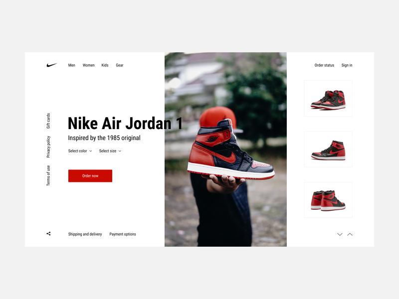 Nike Air Jordan Concept e-commerce sport shop shoes sneakers jordan air nike