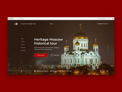 Heritage Moscow historical tour