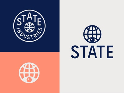 State Industries icon marks identity logo