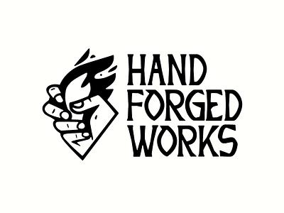 HFW Blacksmith type logo