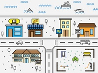 Simple City Map