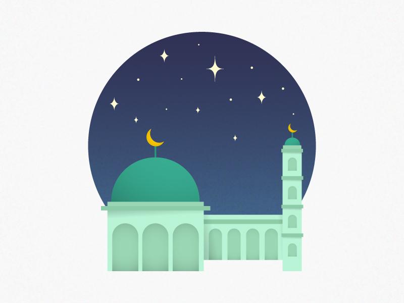 Ramadhan is Coming fasting starry night starry sky star design islamic art ramadan kareem ramadan prayer islam night sky night scene sky skyblue night mosque islamic ui illustration vector