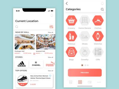 App categories design