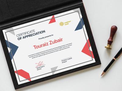 Certificate by touraizzubair