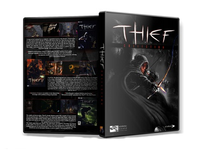 "Dvd Cover for PC Game ""Thief Collection"""